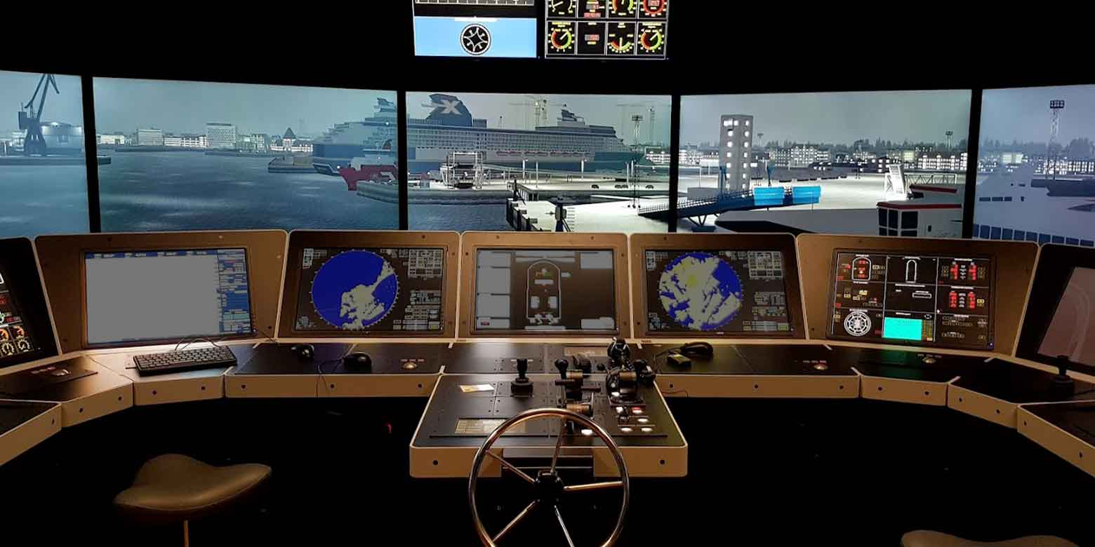 Full Mission Simulator - Maritime Training Southern Denmark